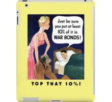 Top That 10% -- World War Two iPad Case/Skin