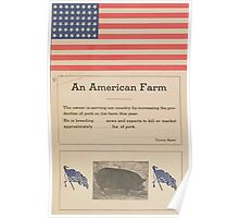 United States Department of Agriculture Poster 0258 An American Farm Poster