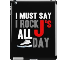 Rock JS All Day Cords iPad Case/Skin