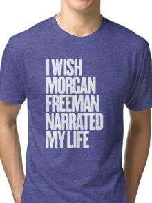 morgan freeman Tri-blend T-Shirt