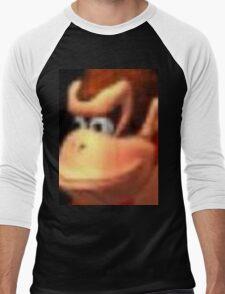 Donkey Kong ;) Men's Baseball ¾ T-Shirt