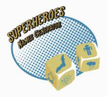 Superheroes name-generator One Piece - Short Sleeve
