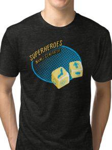 Superheroes name-generator Tri-blend T-Shirt