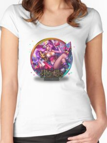 Arcade Miss Fortune Women's Fitted Scoop T-Shirt