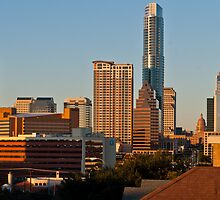 November ATX skyline from Congress by Roschetzky