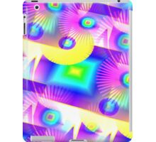 Retro-80s Rainbow Seamless iPad Case/Skin