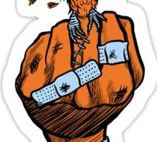The Bird (Orange) Sticker