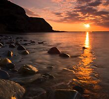 End of a beautiful day by Paul Mercer
