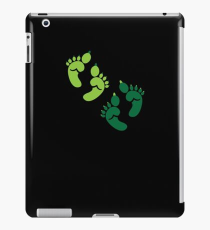 Two pairs twins Ogre feet cute for Halloween! iPad Case/Skin