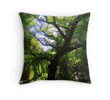 Oak, New Orleans, LA Throw Pillow