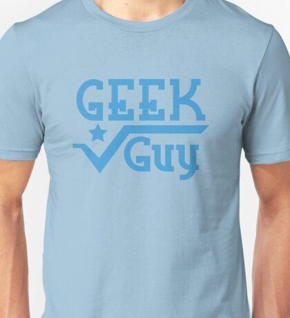 Geek Guy cute nerdy geek design for men Unisex T-Shirt