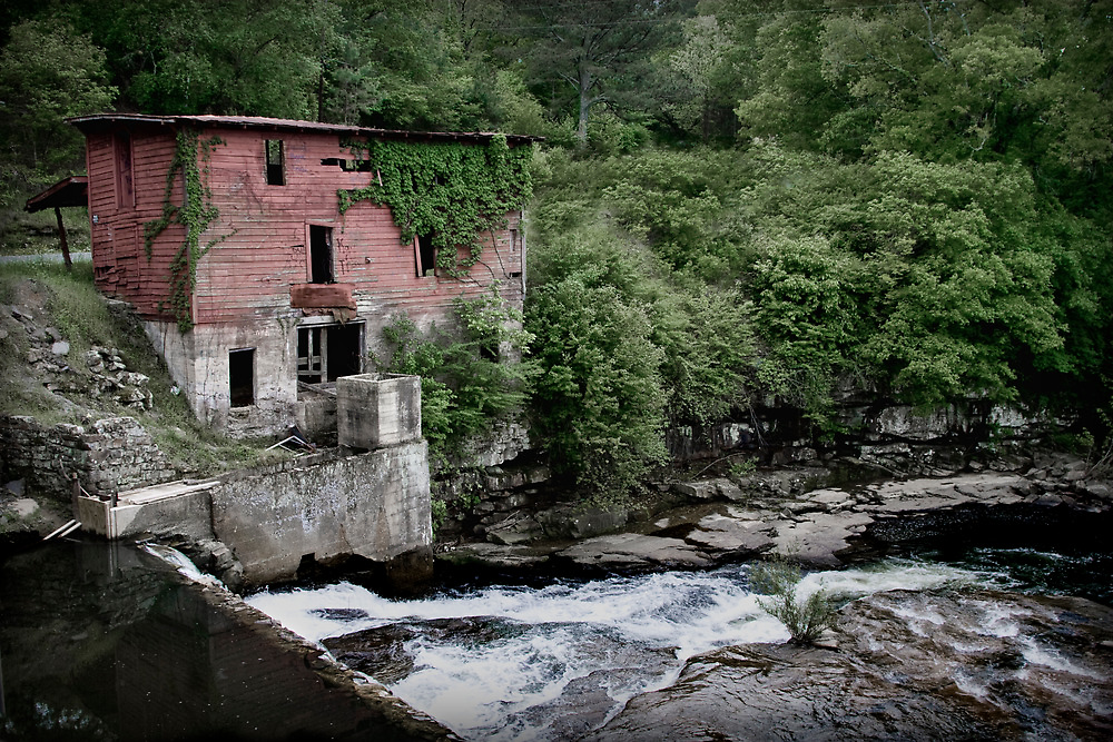 Old Mill by the Water by Patricia Montgomery