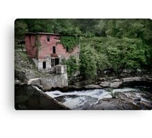 Old Mill by the Water Canvas Print