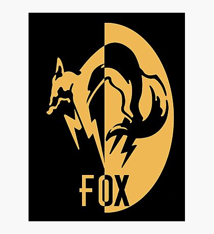 FoxHound logo Photographic Print