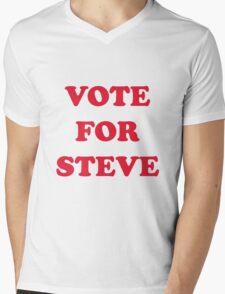 Vote For Steve Mens V-Neck T-Shirt