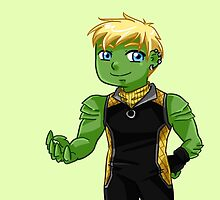 YA Chibi Hulkling (Teddy Altman) by artsy-alice