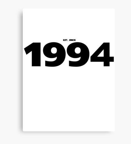 1994 - STARWARS Canvas Print