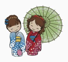 Little Japanese girls by funfang