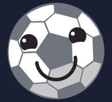 Super cute Kawaiis soccer football ball Kids Tee
