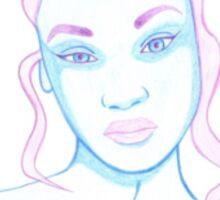 colour gorl - 4 Sticker