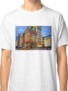 Manhattan Street Scene Classic T-Shirt