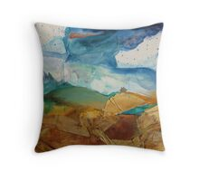Where I Live in My Dreams Throw Pillow