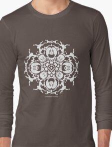 ORANGUTAN SNOWFLAKE VIOLET Long Sleeve T-Shirt