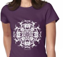 ORANGUTAN SNOWFLAKE VIOLET Womens Fitted T-Shirt