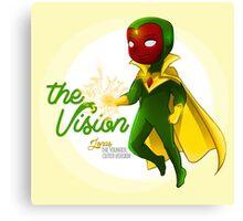 YA Chibi Vision (Jonas) Canvas Print