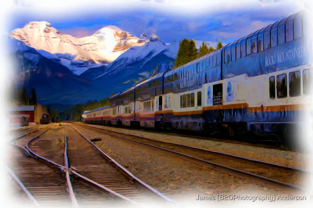 Rocky Mountaineer - Banff National Park by JamesA1