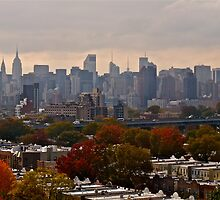 Manhattan - New York - From the Hellgate Bridge *featured by Jack McCabe