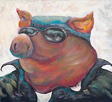 HOGS ALL YEAR!!! by Nadine Rippelmeyer