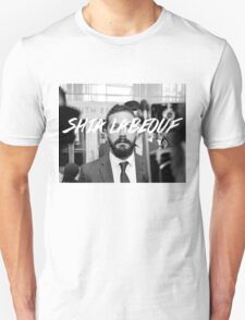 Shia Labeouf Black and White T-Shirt