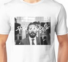 Shia Labeouf Black and White Unisex T-Shirt