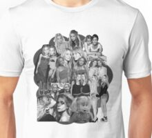 Olsen Twins Collage Unisex T-Shirt