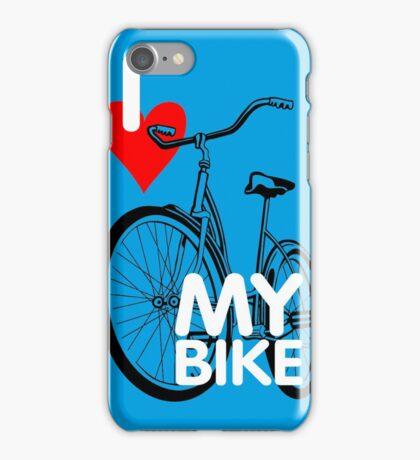 I Love My Bike Bicycle iPhone Case/Skin