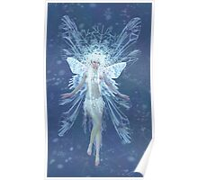 Snowflake fairy queen Poster