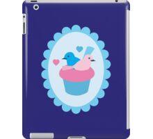Blue wren cupcakes iPad Case/Skin