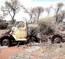 Outback Australia - Boiada Hill by Anne-Louise Vague