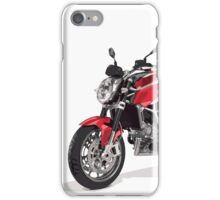 Racing motorcycle iPhone Case/Skin