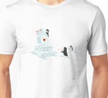 Snowbot is programmed to love Unisex T-Shirt