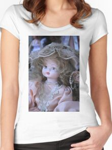 old doll Women's Fitted Scoop T-Shirt