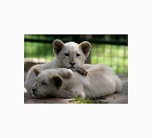 White Lion Cubs Unisex T-Shirt