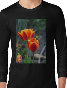 tulip in spring Long Sleeve T-Shirt