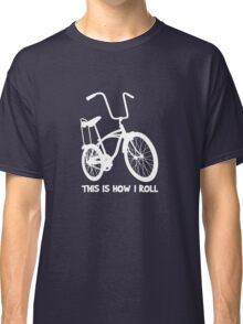 This Is How I Roll - Retro Bicycle Classic T-Shirt