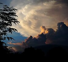 Sunset Clouds by Mike  McGuire