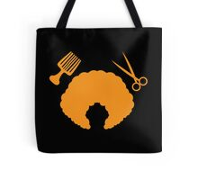 AFRO Hairdresser stylist Tote Bag