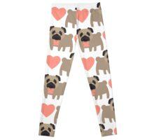 Pugs and Hearts Leggings