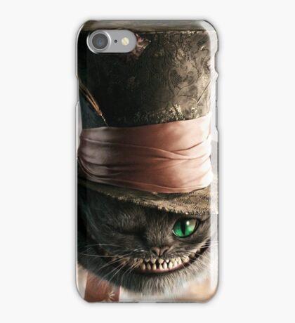 Cat In Alice In Wonderland Iphone Case iPhone Case/Skin