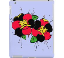 Tattoo flowers iPad Case/Skin